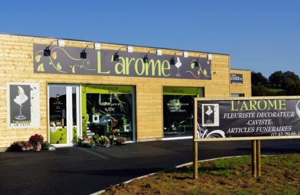 bat-arome-facadecoron-585x380 Photos produits - Magasin L'Arome  agence communication audiovisuel cholet nantes angers vendée les herbiers la roche sur yon niort