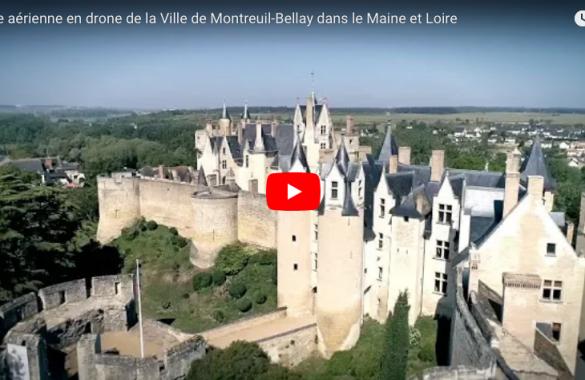 Drone sur Montreuil Bellay