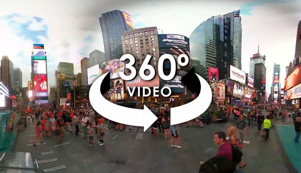 Ville vidéo 360°