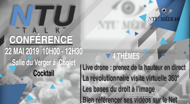 Conférence NTU Talk presse